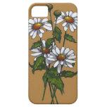 Margaritas frescas: Flores, florales: Arte de la n iPhone 5 Case-Mate Cárcasa