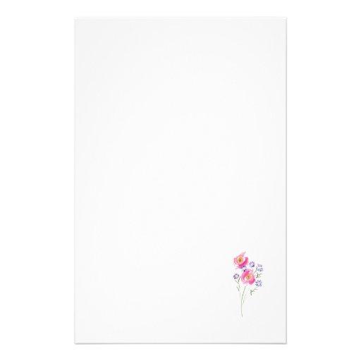 Margaritas incompleto dibujadas simples  papeleria de diseño