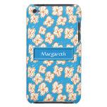 Margaritas ingenuas en azul Case-Mate iPod touch carcasas