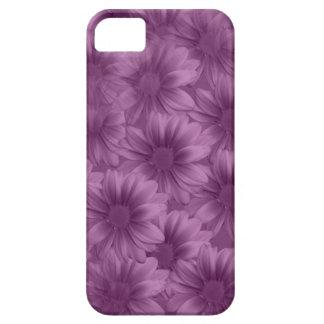 Margaritas púrpuras acodadas del Gerbera iPhone 5 Fundas