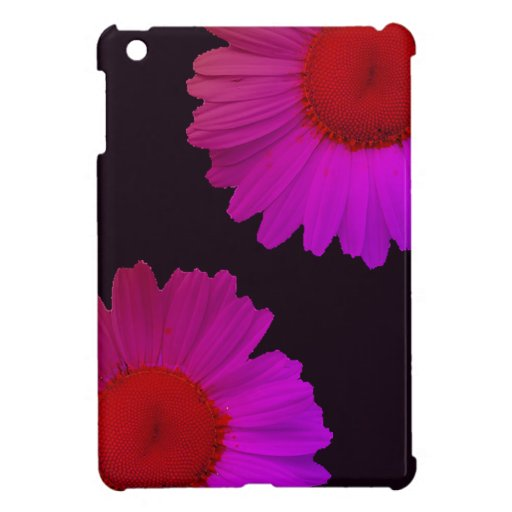 Margaritas púrpuras iPad mini coberturas