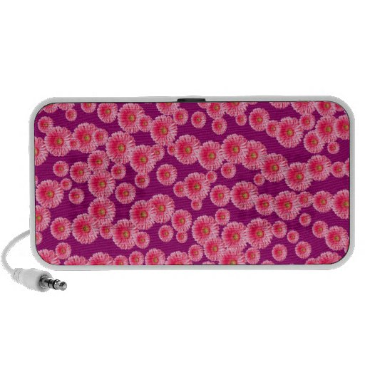 Margaritas rosadas adaptables de Gerber iPod Altavoces