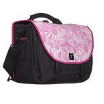 Margaritas rosadas bolsas de portatil