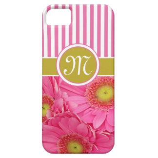 Margaritas rosadas de Gerber iPhone 5 Carcasa