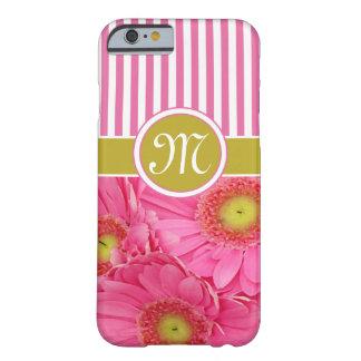 Margaritas rosadas de Gerber Funda De iPhone 6 Barely There
