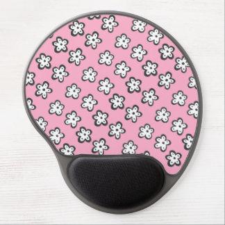 Margaritas rosadas Mousepad Alfombrilla De Ratón Con Gel