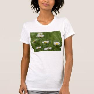 Margaritas salvajes de la primavera camisetas