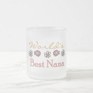 Margaritas y camisetas de Nana del mundo de los ro Taza De Café