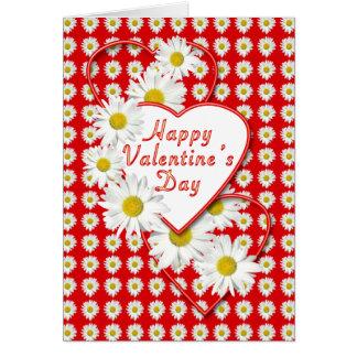 Margaritas y tarjeta del el día de San Valentín de
