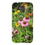 Margaritas y Wildflowers rosados Funda De Galaxy S5