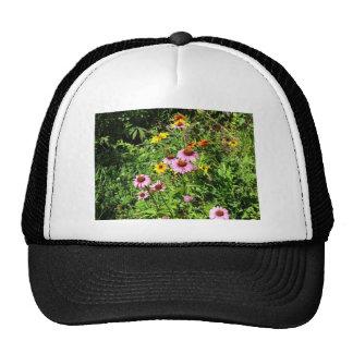 Margaritas y Wildflowers rosados Gorras De Camionero