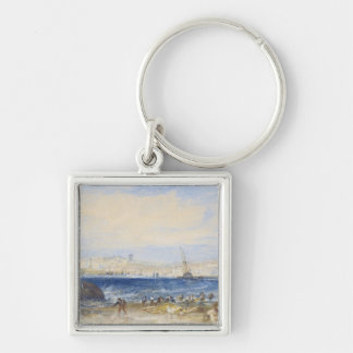 Margate, c.1822 (w/c on paper) keychain