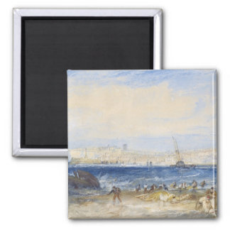 Margate, c.1822 (w/c on paper) magnet