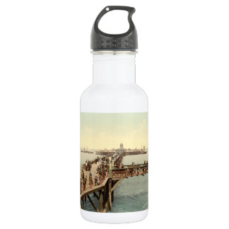 Margate Jetty I, Kent, England Stainless Steel Water Bottle