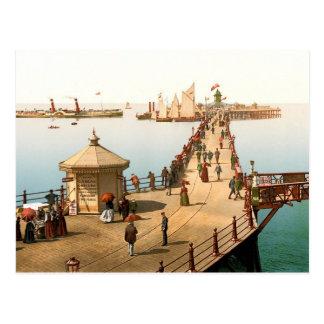 Margate Jetty Vintage British Seaside Post Card