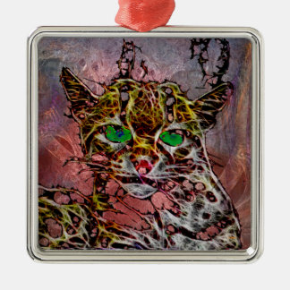 Margay The Merciless Metal Ornament
