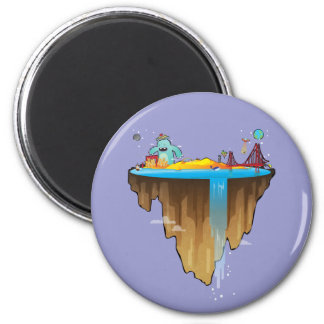 Margem Sul 2 Inch Round Magnet