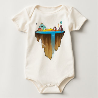 Margem Sul Baby Bodysuit