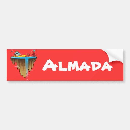 Margem Sul Car Bumper Sticker