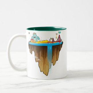 Margem Sul Two-Tone Coffee Mug