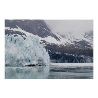 Margerie and Grand Pacific Glaciers Poster