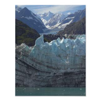 Margerie Glacier Alaska 4.25x5.5 Paper Invitation Card