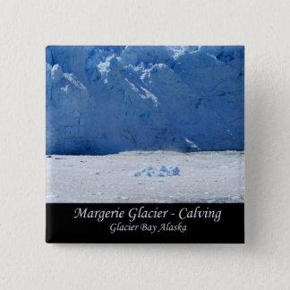 Margerie Glacier Calving/Glacier Bay Alaska Button