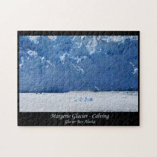 Margerie Glacier Calving Glacier Bay Alaska Puzzle