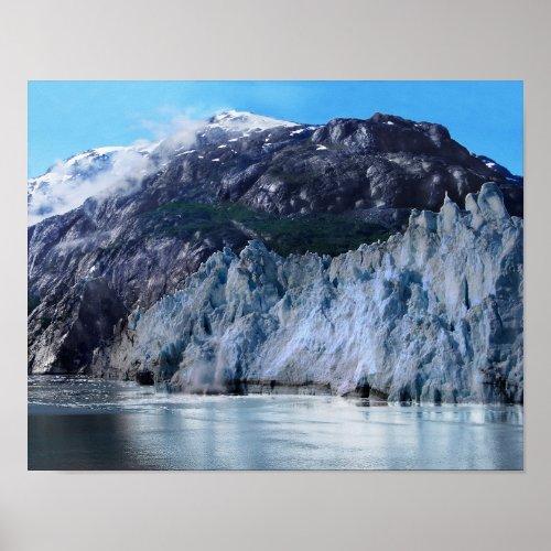 Margerie Glacier Calving Poster