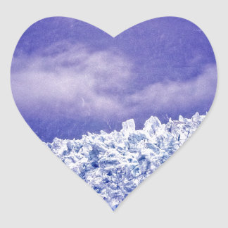 Margerie Glacier Heart Sticker