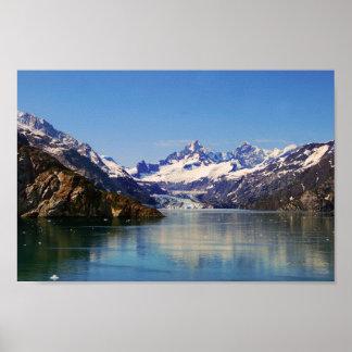 Margerie Glacier Panorama, Alaska Poster