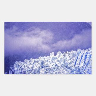 Margerie Glacier Rectangular Sticker
