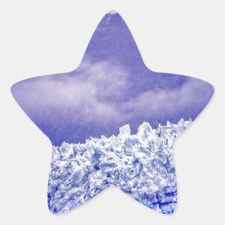 Margerie Glacier Star Sticker