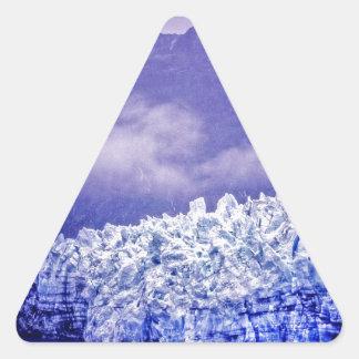 Margerie Glacier Triangle Sticker