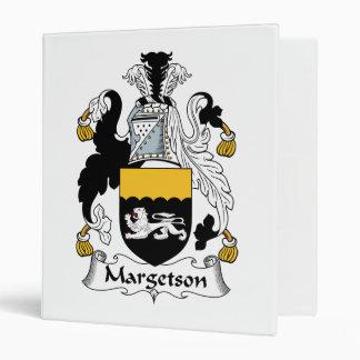 Margetson Family Crest Binder