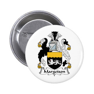 Margetson Family Crest Button