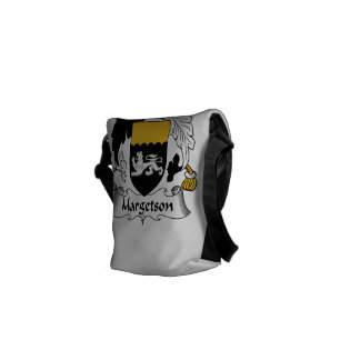 Margetson Family Crest Courier Bag