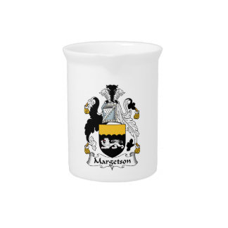 Margetson Family Crest Drink Pitchers