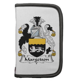 Margetson Family Crest Folio Planners