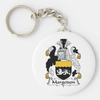 Margetson Family Crest Keychains