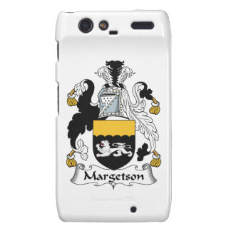 Margetson Family Crest Motorola Droid RAZR Covers