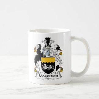 Margetson Family Crest Mug