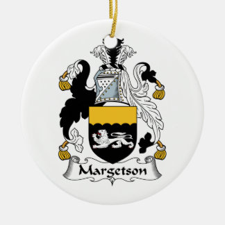 Margetson Family Crest Ornaments
