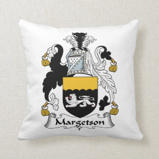 Margetson Family Crest Pillows