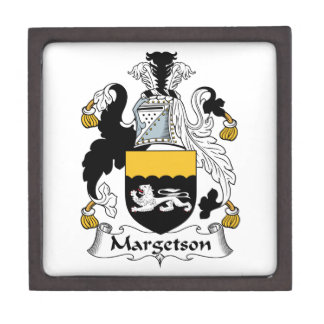 Margetson Family Crest Premium Trinket Box
