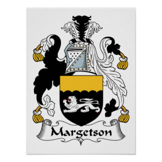 Margetson Family Crest Print