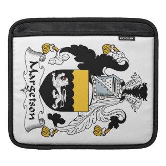 Margetson Family Crest Sleeves For iPads