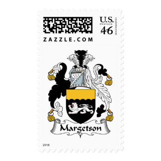 Margetson Family Crest Stamps