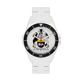 Margetson Family Crest Wrist Watches