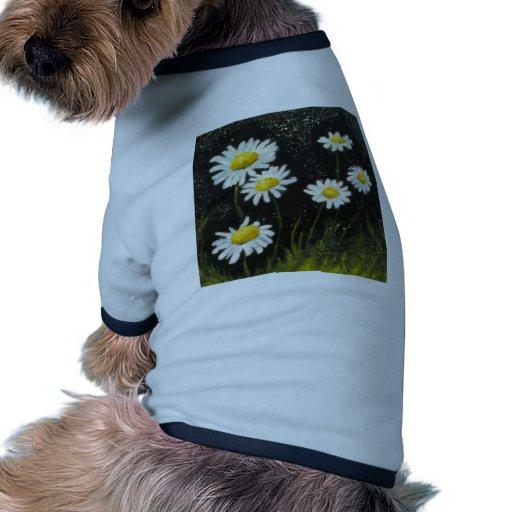 Margherite in Black Dog Shirt